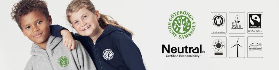 Skolkläder GHS Ekologiska Skoltröjor
